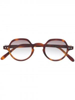 Солнцезащитные очки Imero в оправе черепаховой расцветки Epos. Цвет: коричневый