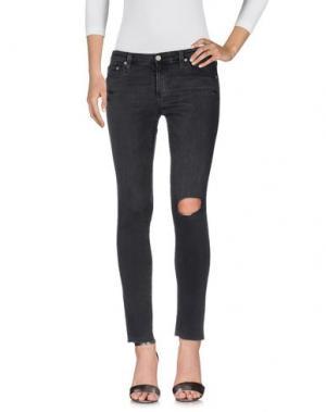 Джинсовые брюки AG JEANS. Цвет: свинцово-серый