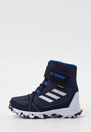 Ботинки трекинговые adidas TERREX SNOW CF R.RDY K. Цвет: синий