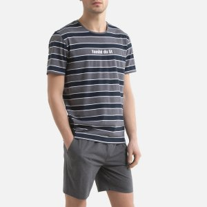 Пижама LaRedoute. Цвет: серый