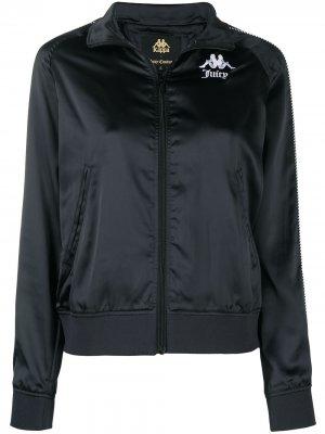 Куртка Egira из коллаборации с Juicy Couture Kappa. Цвет: черный