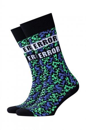 Черные носки с пиксельным узором Burlington. Цвет: черный