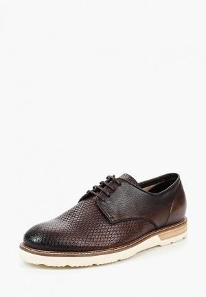 Туфли GT Gualtiero. Цвет: коричневый
