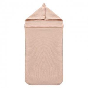 Кашемировый конверт Les Lutins. Цвет: розовый
