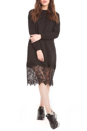 Платье FREESPIRIT. Цвет: черный