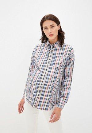 Рубашка Olesya Zubova Colorsail. Цвет: разноцветный