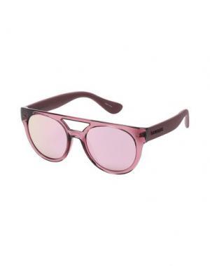 Солнечные очки HAVAIANAS. Цвет: пастельно-розовый
