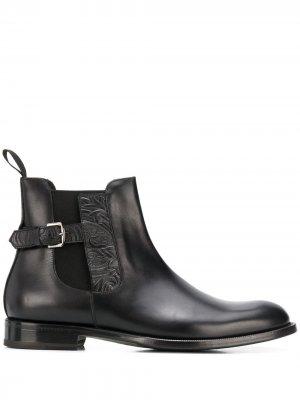 Ботинки челси с пряжкой Etro. Цвет: черный