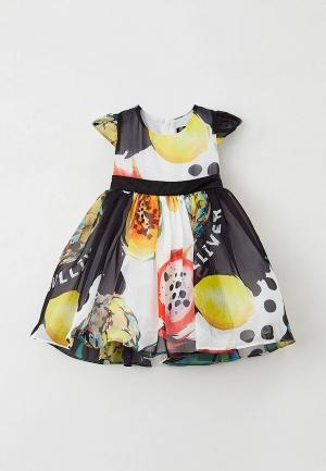 Платье Gulliver. Цвет: разноцветный