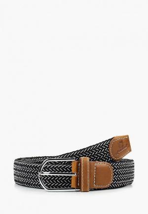 Ремень Churchill accessories. Цвет: черный