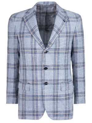Шелковый пиджак ANDREA CAMPAGNA