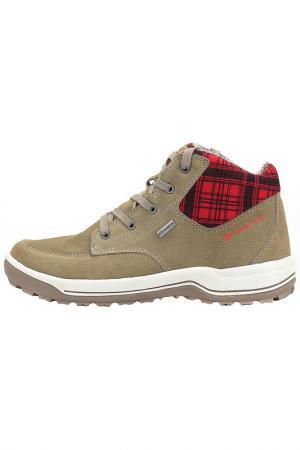 Ботинки Alpine Pro. Цвет: бежевый