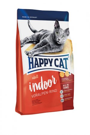 Сухой корм для кошек 1,4 кг HAPPY CAT. Цвет: белый