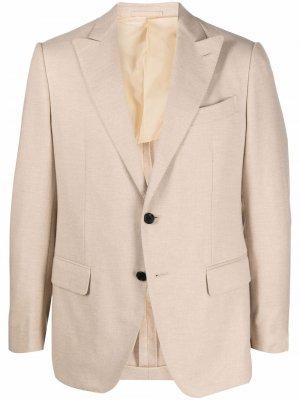Однобортный пиджак Caruso. Цвет: нейтральные цвета