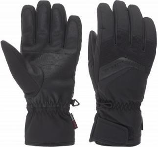 Перчатки мужские Gabino, размер 10,5 Ziener. Цвет: черный
