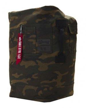 Рюкзаки и сумки на пояс EASTPAK x ALPHA INDUSTRIES. Цвет: зеленый-милитари