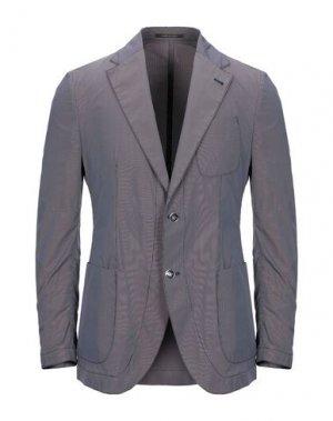 Пиджак ROYAL ROW. Цвет: фиолетовый
