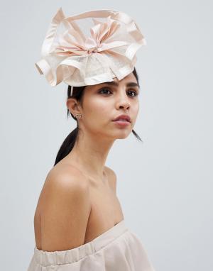 Вуалетка цвета мела Elegance. Цвет: кремовый