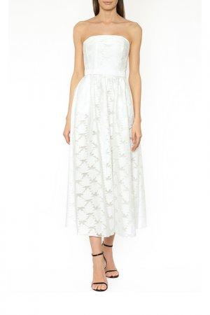 Платье вечернее Terekhov girl. Цвет: белый