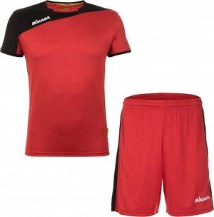 Комплекты волейбольной формы мужской MIKASA Busai, размер 48. Цвет: красный