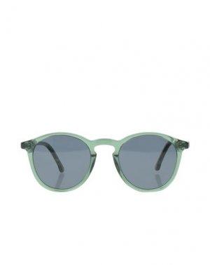 Солнечные очки KOMONO. Цвет: зеленый-милитари