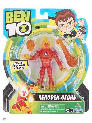 Ben 10 Фигурка 12.5 см, Человек-огонь. Цвет: красный