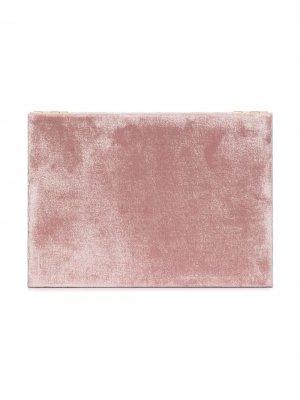 Бархатная шкатулка для украшений Sophie Bille Brahe. Цвет: розовый