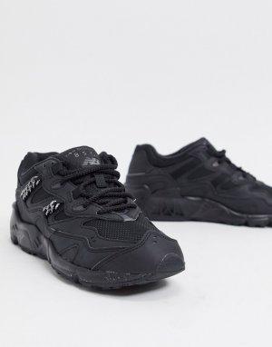 Черные кроссовки с металлической цепочкой 850 Chain Metallic-Черный New Balance