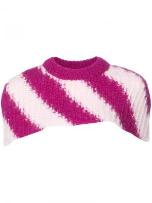 Вязаный воротник Calvin Klein 205W39nyc. Цвет: розовый