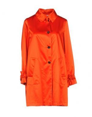 Легкое пальто MANUELA CONTI. Цвет: оранжевый