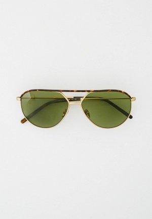 Очки солнцезащитные Giorgio Armani AR6120J 30022A. Цвет: золотой