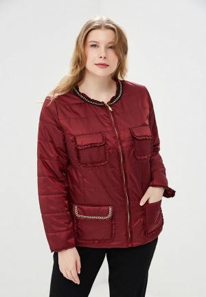 Куртка утепленная KR. Цвет: бордовый