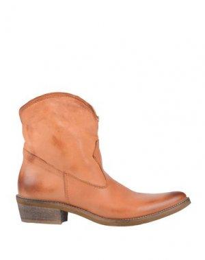 Полусапоги и высокие ботинки CHIARINI BOLOGNA. Цвет: песочный