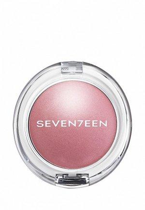 Румяна Seventeen перламутровые PEARL BLUSH POWDER т.07 нежно розовый, 7.5 г. Цвет: розовый
