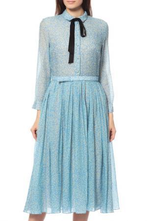 Платье A.Terekhov. Цвет: голубой