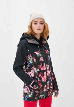 Куртка сноубордическая Roxy STATED PARKA JK J SNJT KVJ6. Цвет: черный