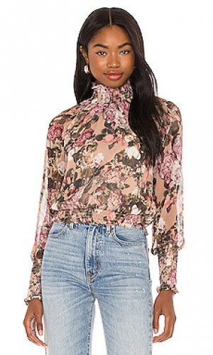 Блузка bently Amanda Uprichard. Цвет: розовый