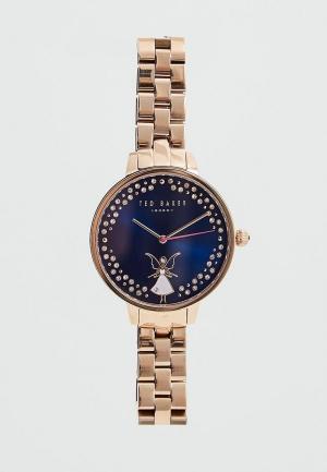 Часы Ted Baker London. Цвет: золотой