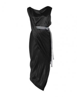 Длинное платье VIVIENNE WESTWOOD ANGLOMANIA. Цвет: черный