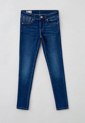 Джинсы Pepe Jeans PIXLETTE. Цвет: синий