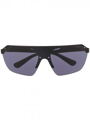 Солнцезащитные очки Razor в массивной оправе Tom Ford Eyewear. Цвет: черный