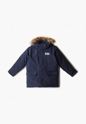 Куртка Helly Hansen K OSLO PARKA. Цвет: синий