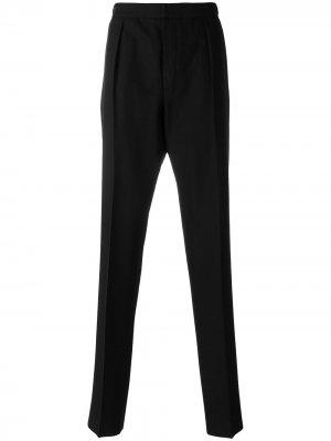 Классические брюки Bottega Veneta. Цвет: черный