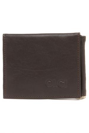 Портмоне OLCI. Цвет: коричневый