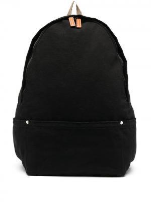 Рюкзак с контрастными лямками Jil Sander. Цвет: черный
