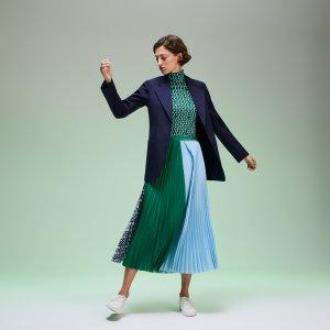 Верхняя одежда Пиджак Lacoste. Цвет: темно-синий