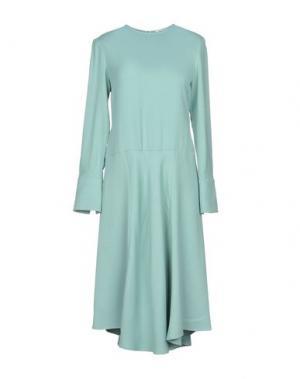 Платье до колена ANGEL SCHLESSER. Цвет: светло-зеленый