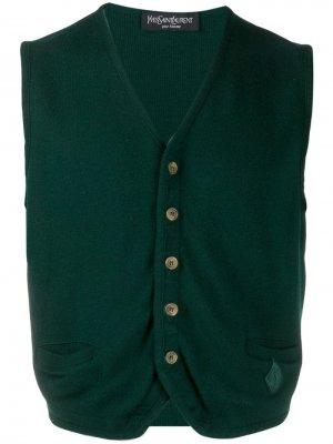 Архивные коллекции Yves Saint Laurent Pre-Owned. Цвет: зеленый
