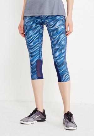 Тайтсы Nike W NK PWR EPIC RUN CPRI PR. Цвет: синий