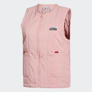 Жилет R.Y.V. Originals adidas. Цвет: розовый